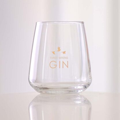 three wrens gin glass