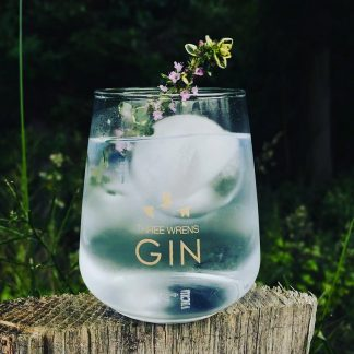 three wrens gin glass