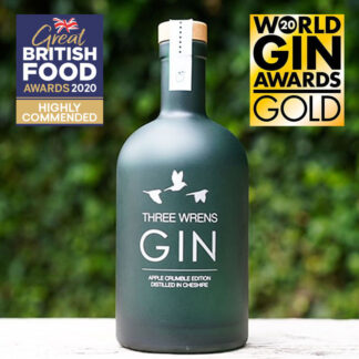 award winning apple crumble gin edition