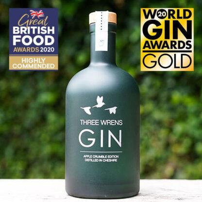 award winning apple crumble gin edition