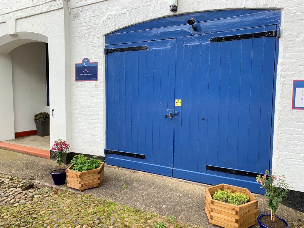 three wrens gin distillery cheshire entrance