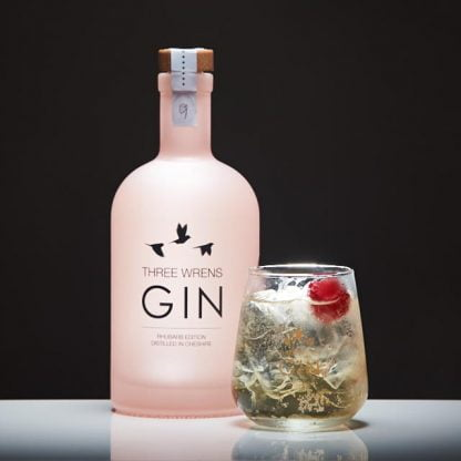 three wrens gin rhubarb perfect serve