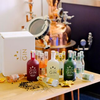 word firsts gin hamper collection 2021