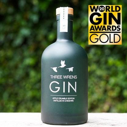 world gin awards gold apple crumble gin edition