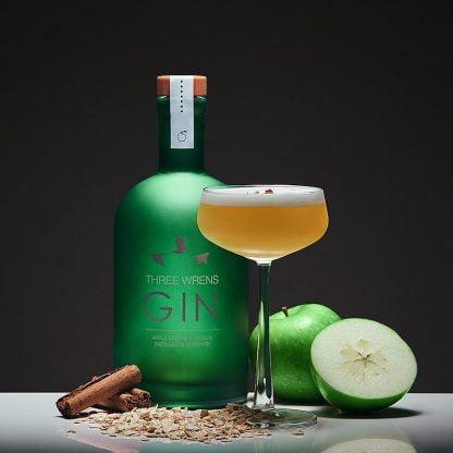apple crumble gin three wrens gin