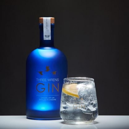 original dry gin three wrens gin
