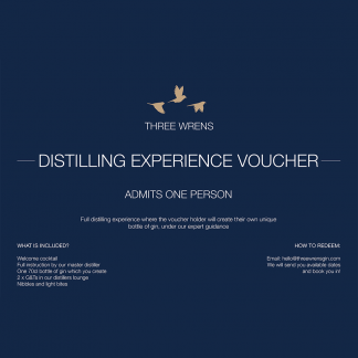 three wrens gin school admit 1 voucher