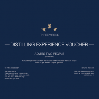 three wrens gin school admit 2 voucher
