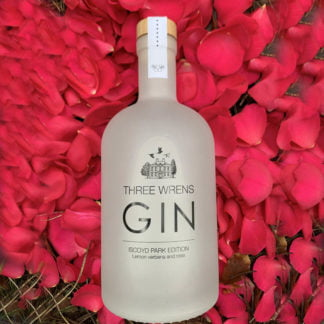 rose-lemonverbena gin three wrens gin