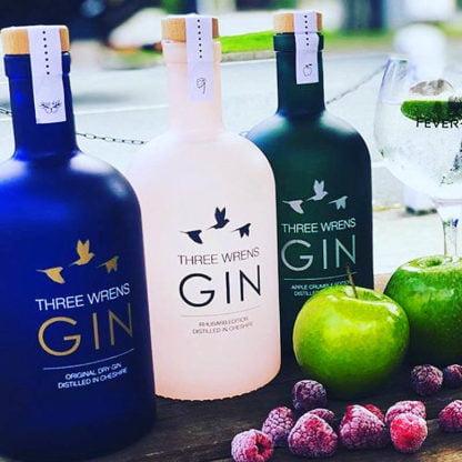 gin range 3 flavours