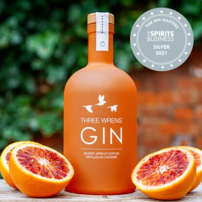 blood orange apricot gin the gin masters awarded