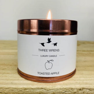 luxury scented candle toasted apple