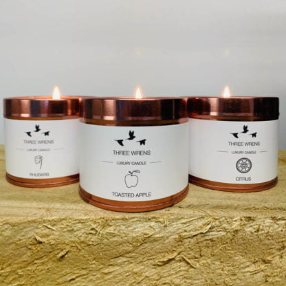 luxury candle collection