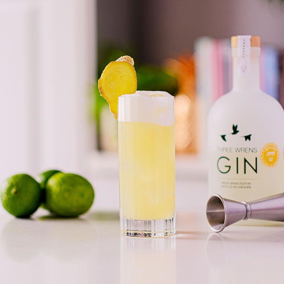 frisky bison gin cocktail