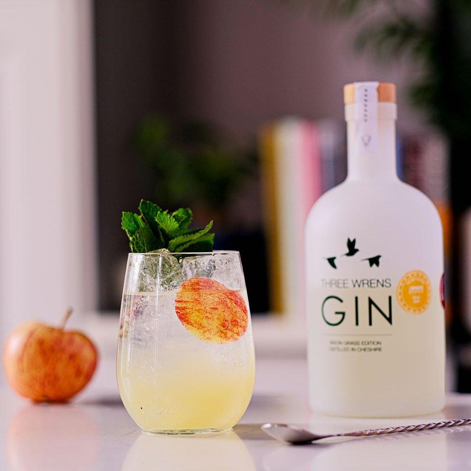 frisky spritz gin cocktail