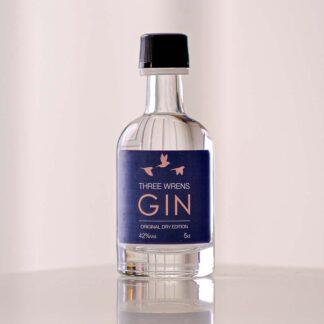 original gin mini 5cl gin bottle