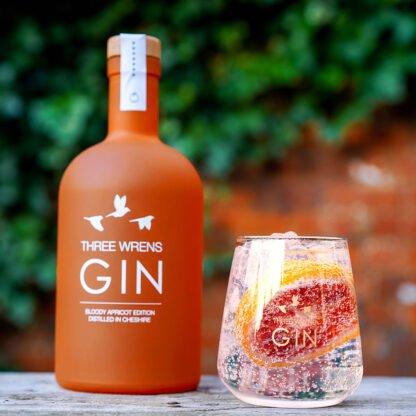 blood orange apricot gin tonic