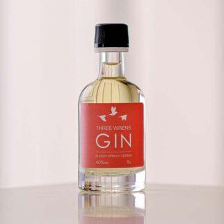 bloody apricot mini 5cl gin bottle