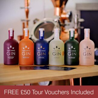 complete box set gin collection free vouchers no medals