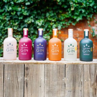 complete gin collection 6 x bottles