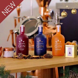 festive gin box gift set decorations new