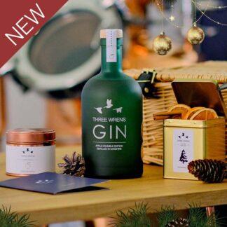 festive gin hamper gift set 2 new