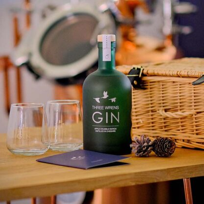 gin glasses hamper gift set